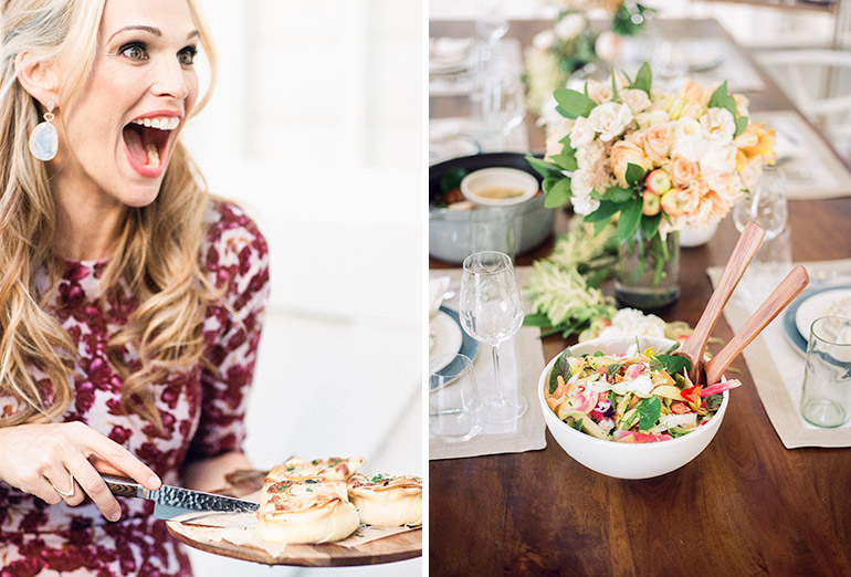 Molly Sims Loves Heirloom LA's Lasagna Cupcakes™
