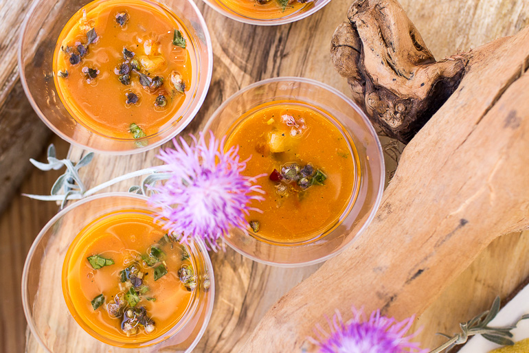 stone-fruit-gazpacho-appetizer