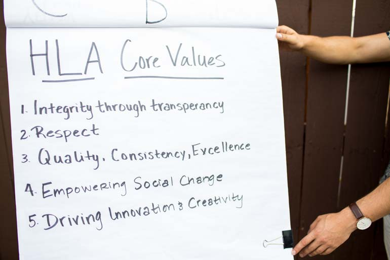 core-values-white-board