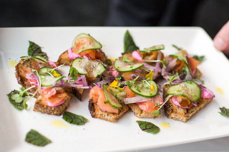 salmon-tartine-brunch-appetizer