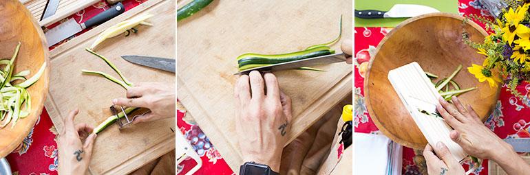 cutting-zucchini-wood board-demo
