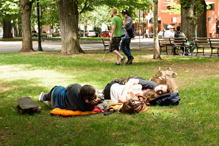 sleeping-in-park-portland