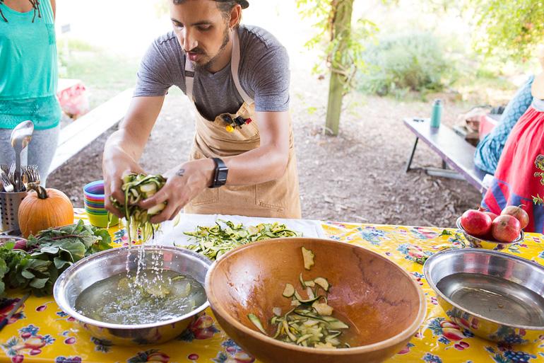zucchini-wash-