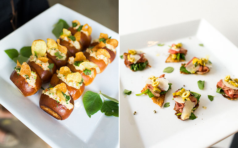 appetizers-white-plate-lobster-rolls