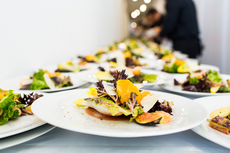 plated-salad-catering-smashbox-studios