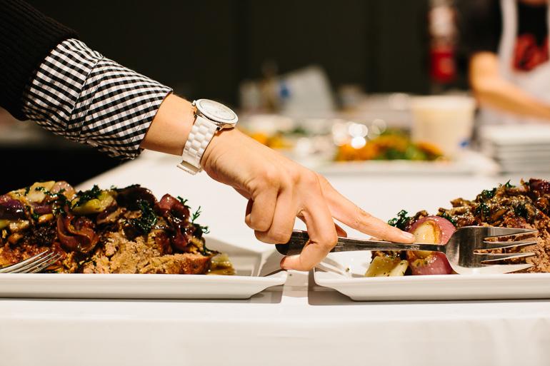 beef-kitchen-fork-platter-hand