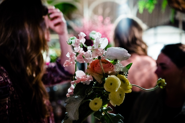 flowers-bouquet-event-catering-woman