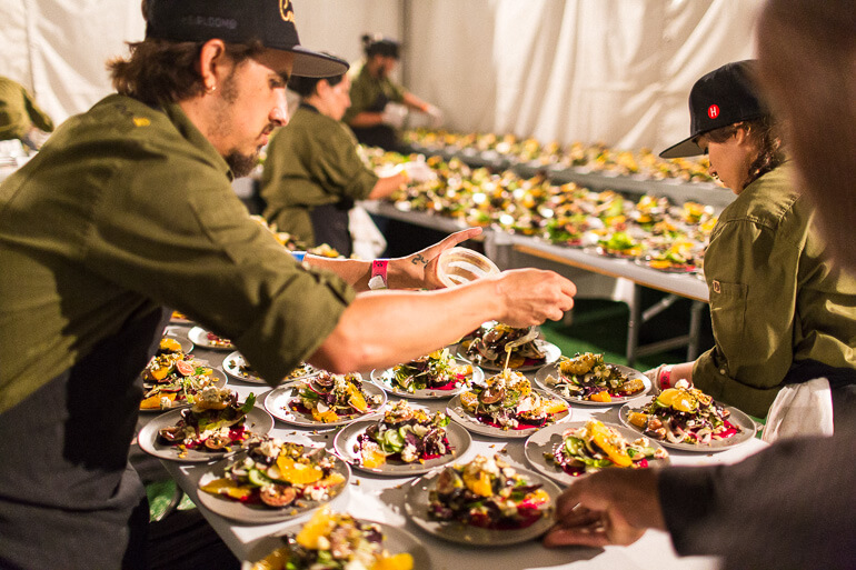 kitchen-plating-salad-catering-matt-poley