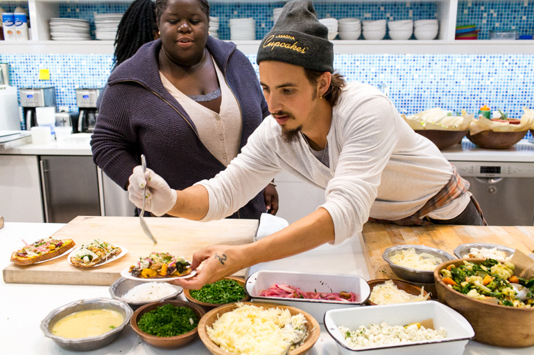 teaching-foster-youth-catering-los-angeles-vegetarian