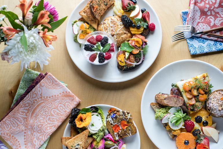 Breakfast Plates, heirloom la, los angeles catering