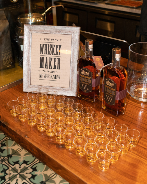 Uncle Nearest Whiskey, whiskey dinner