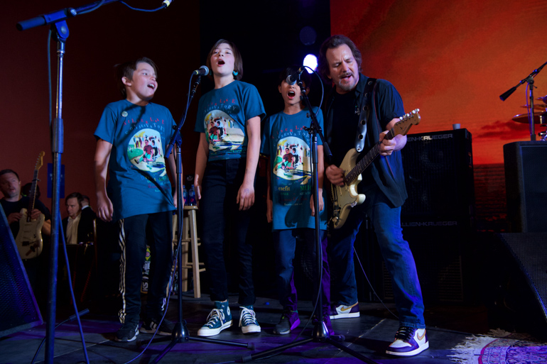 Eddie Vedder, SCM, Silverlake Conservatory of Music, Silverlake, Children