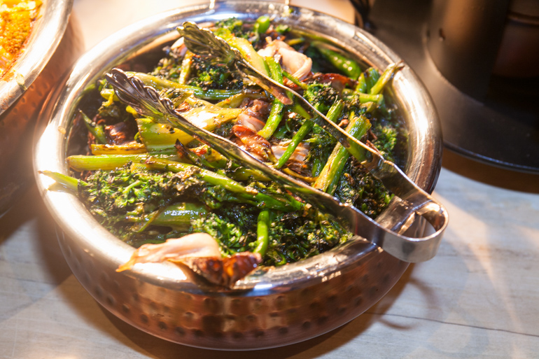 broccoli, civil coffee, appetizer, breads, heirloom la, pryor events, new years eve, los angeles, beverly hills, los angeles catering, events, los angeles events, catering