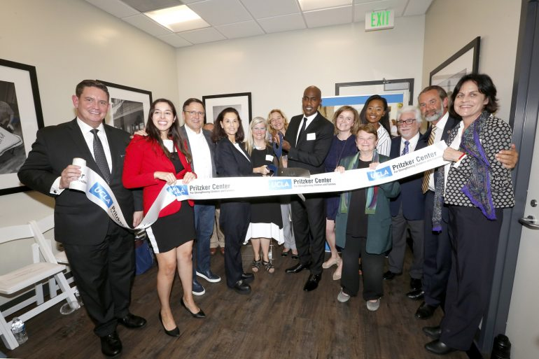 UCLA, Heirloom LA, Pritzker Center Opening AMP