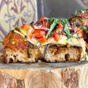 Pizza Bread Pudding